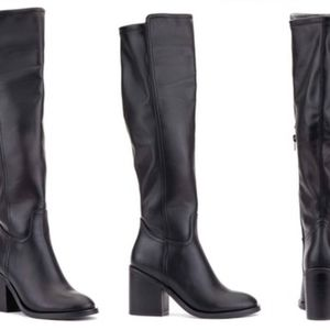 Olivia Miller Swanky Tall Fashion Boots 7 Black Me